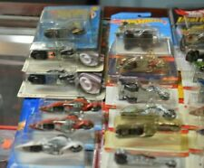 HOT WHEELS COLLECTIBLES (34) DIE CAST CHASSIS SPECIAL PAINT MOTORCYCLES SET