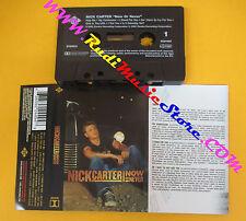 MC NICK CARTER Now or never 2002 eu BACKSTREET BOYS ZOMBA JIVE no cd lp dvd vhs