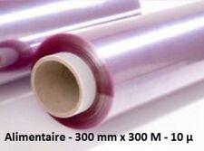 Rouleau film étirable alimentaire, boite distributrice 30cm x 300m - couvre plat