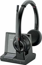 Plantronics 8220 Savi 3in1 Cordless Wireless DECT Hearing Headset UC 207325-12