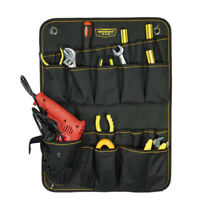 Durable Oxford Cloth Construction Tool Bag Wall Hanging Tool Pouch Organizer