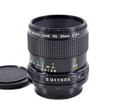 Canon Macro Lens FD 50 mm 1:3,5 *TOP-Zustand* adaptierbar an digital