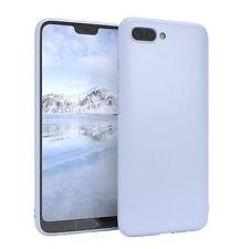 Für Huawei Honor 10 Hülle Case Silikon Cover Schutz Tasche Slim Matt Hellblau