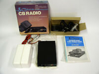 Vintage NOS Cobra 20 Plus 40 Channel CB Radio New in Box in Box w/ Instructions