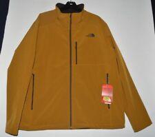 North Face Apex Bionic 2 Men's Soft Shell Jacket Golden Brown fleece XXL NWT