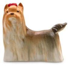 Yorkshire Terrier Dog Puppy Figurine Russian Imperial Lomonosov Porcelain