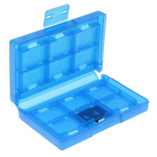 Game Card Case Holder 24 in 1 Cartridge Storage Box For Nintendo Switch Blue