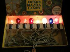 RARE C6 Santalites With Edison Mazda Lamps - 1925 - Collector Quality