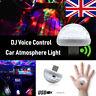 Mini USB RGB LED Car Interior Light Neon Atmosphere Ambient Music Control Lamp !