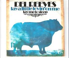 DEL REEVES - Lay a little lovin´ on me