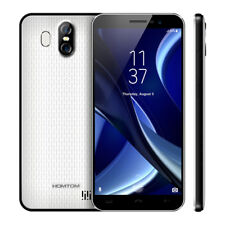 "5.5"" 18:9 Homtom S16 Android 7.0 Touch ID 3camera 2gb 16gb Smartphone Téléphone"