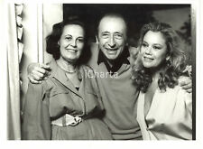 """1986 RAI DUE """"Fuori Scena"""" - Enzo MUZII tra Valeria MORICONI e Gina LAGORIO"""