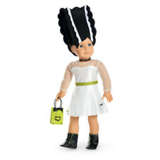 "American Girl TRULY ME MOD MONSTER COSTUME for 18"" Dolls Halloween Frankenstein"