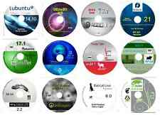 Linux COLLECTION No4 -12 DISCHI 64 bit Inc, Ubuntu zorin MINT openSUSE CAE ROBO +