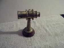 Vintage Nautical Marine Antique Vintage Spyglass Brass Telescope Mounted