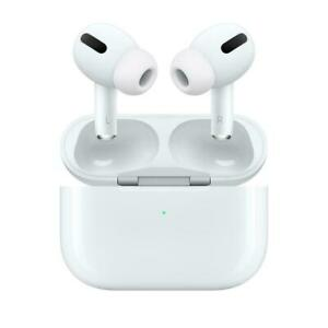 Apple AirPods Pro Bluetooth Headphones And Wireless Charging Case - White