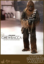 HOT TOYS CHEWBACCA STAR WARS EP. IV UNA NUEVA ESPERO OTRA VEZ CON BROWN BOX