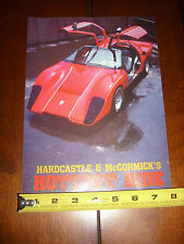 HARDCASTLE & McCORMICK COYOTE MONTAGE MOVIE SHOW CAR - ORIGINAL 1986 ARTICLE