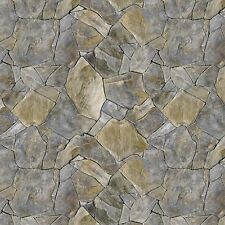Tile Stones #00-93 Naturescapes Stonehenge Quilt Fabric by the 1/2 yard
