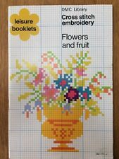 DMC Library Cross Stitch Embroidery: Flowers and Fruit, 11001-2