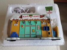 The Simpsons Hawthorne Christmas Village Kwik-E-Mart certificate of authenticity