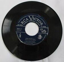 Vintage RCA Victor Bluebird Children's Records 45 RPM Snow White WBY 2