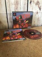 Worms PS1 PlayStation 1 PAL Game Complete Original Rare Big Box