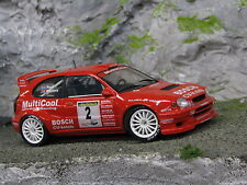QSP Toyota Corolla WRC 1998 1:24 #2 Wevers / Poel Golden Tulip Rally 2004