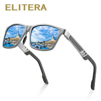 ELITERA Aluminum Polarized Sunglasses Men Classic Driving Sun Glasses Male UV400