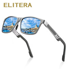 ELITERA Aluminum Polarized Sunglasses Men Classic Driving Sun Glasses Male UV400