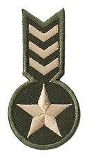 patche écusson Ecusson brodé patche Army militaire petit thermo patch