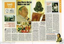 Coupure de presse Clipping 1988 (2 pages) Jean Pierre Darras