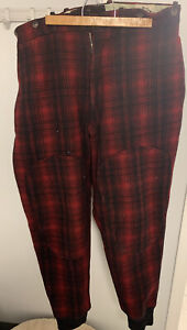 woolrich buffalo plaid Vintage hunting pants size 38x32