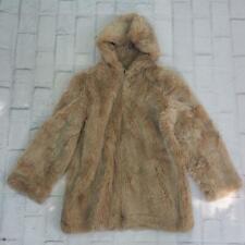 Russel Taylor Vintage Pelo Sintético Peludas Abrigo con / Capucha