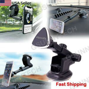 360°Car Holder Windshield Dashboard Magnetic Mount Bracket For Cell Phone iPhone