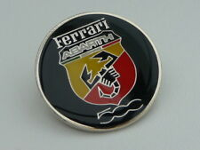 FERRARI FIAT ABRATH 500 Limited Edition TIE PIN BADGE nuovo