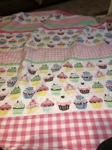 """Cupcake Twin Quilt With Pillow Sham-84""""x 64"""""""