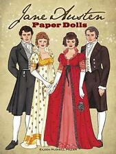 Jane Austen Paper Dolls: Four Classic Characters by Eileen Miller (Paperback, 2014)