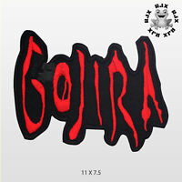 GOJIRA Music Band Patch Iron On Patch Sew On Embroidered Patch