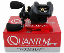 QUANTUM SMOKE HD SHD200HPT 7.3:1 GEAR RATIO RIGHT HAND BAITCAST REEL