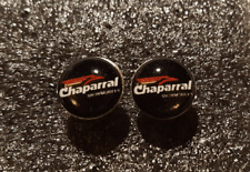 Vintage Snowmobile Logo Earrings-Chaparral