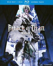 Attack on Titan: Part 2 (Blu-ray/DVD, 2014, 4-Disc Set)
