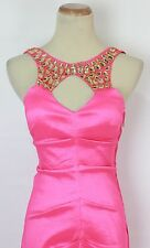 Hailey Logan USA Grand Pink $130 New Prom Formal Gown Evening Long Dress Size 3