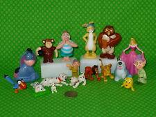 Disney PVC Figure lot of 18 Lion King Peter Pan 101 Dalmatians Pooh Cake Toppers