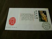 China (PRC-1982) Scott # 1820-BUDDHA SCULPTURES-S.SHEET-FDI-CACHETED
