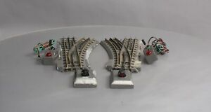 MTH O Gauge Left & Right Hand O-42 Switch Pair