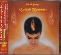 Sinéad O'Connor Faith And Courage JAPAN CD W/OBI 1 Bonus Track AMCY-7162 Sinead