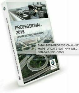 BMW 2019/2020 PRO NAVIGATION MAPS UPDATE SAT NAV DISC DVD E60 520 530 535D