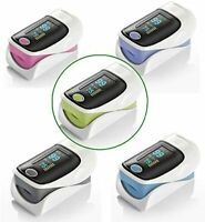 Qumox Oxymètre de pouls digital saturomètre pulsomètre mesure doigt Couleurs alé