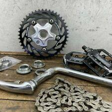 Platos y piñones para BMX